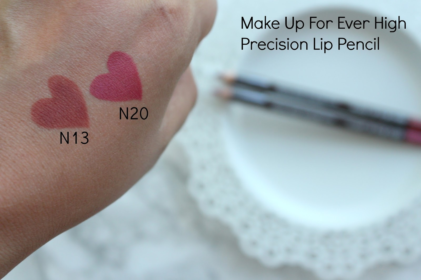 By Comparison The High Precision Lip Pencils Are Stiffer Than Aqua Liners At First I Was