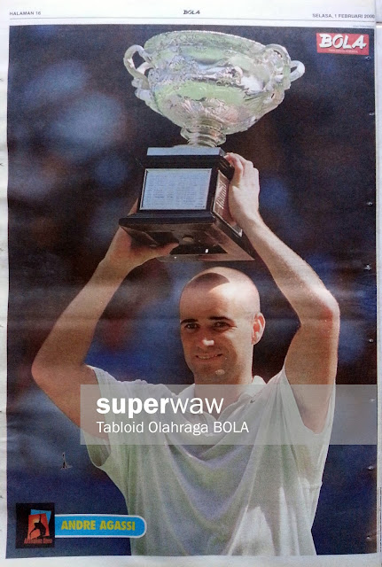 Poster Andre Agassi