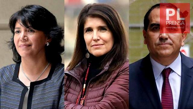 Yasna Provoste, Paula Narváez y Carlos Maldonado