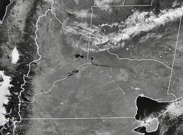 CLIMA: Alerta por Nieve en la Region debido al ingreso de ola polar este fin de semana
