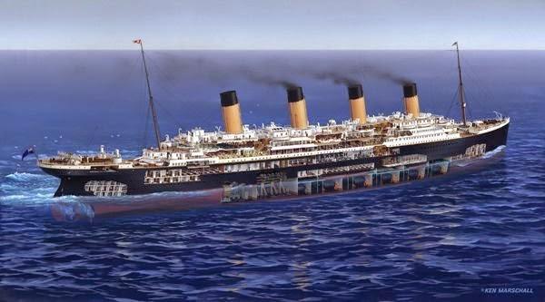 Adrizando titanic un buque imperfecto - Construccion del titanic ...