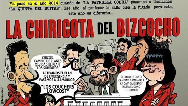 La chirigota del Bizcocho será finalmente 'Los couchers lowcost'