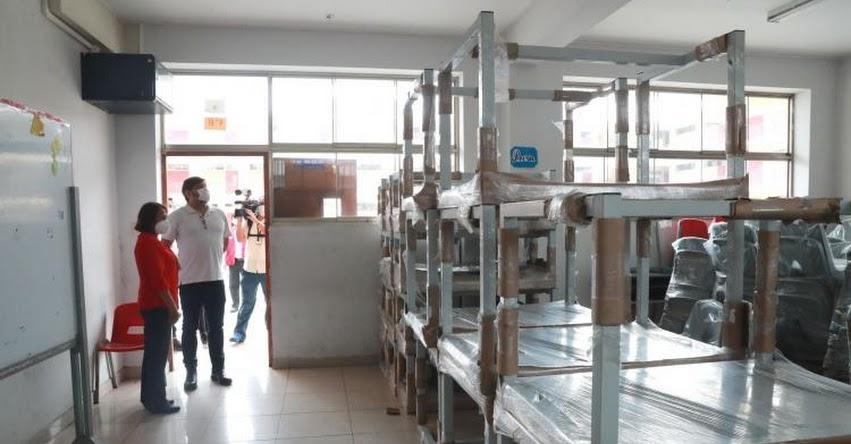 MINEDU transfiere S/ 526 millones a colegios para infraestructura y kits de higiene