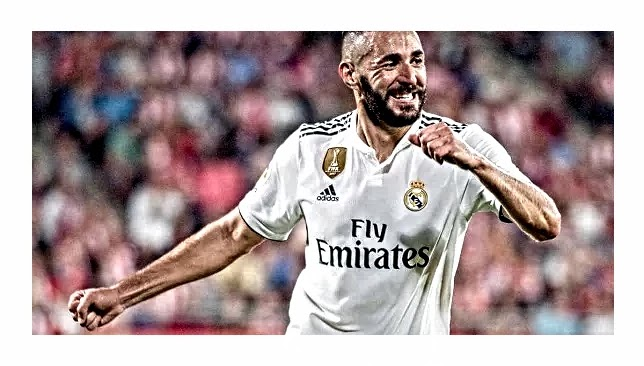 ريال مدريد يعلن غياب بنزيما للاصابة