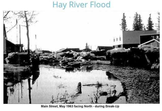 Hay River Flood