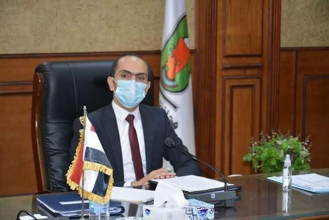 نائب محافظ سوهاج يضع   خطط وقائية لمواجهة فيروس كورونا