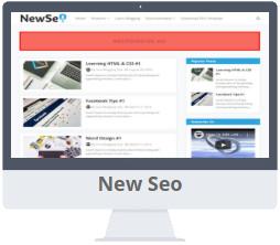 Mẫu New Seo Blogger