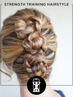 Workout Hairstyles - STRENGTH TRAINING HAIRSTYLE