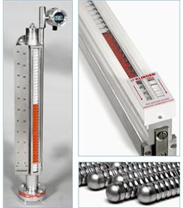 TC Fluid Controls Standard Magnetic Level Gauge