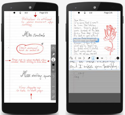INKredible – Handwriting Note