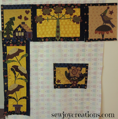 pat sloan chelsea lane applique blocks