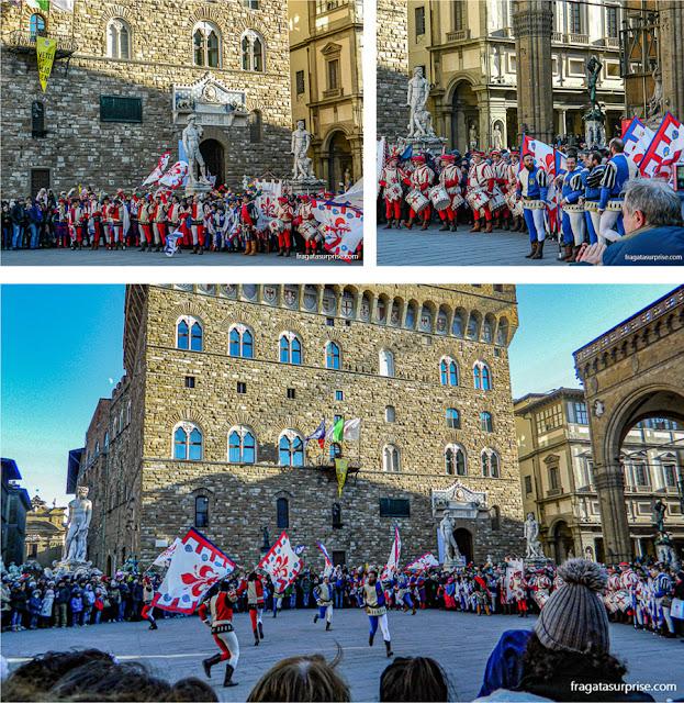 Festa da Befana, dia de Reis em Florença, Itália