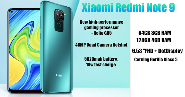 Xiaomi Redmi Note 9 specs