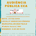AUDIÊNCIA PÚBLICA SOBRE A TRANSFERÊNCIA DOS CCAs DA SMADS PARA SECRETARIA DE EDUCAÇÃO
