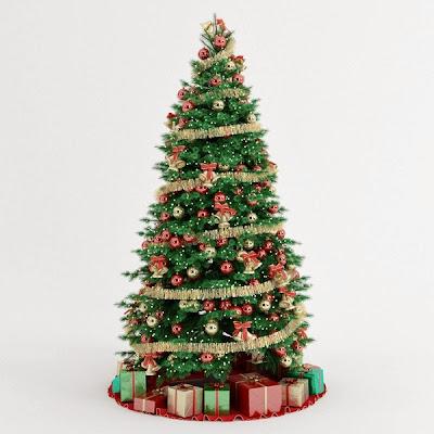 Kumpulan Gambar Pohon Natal Cantik dan Indah | The Kolor