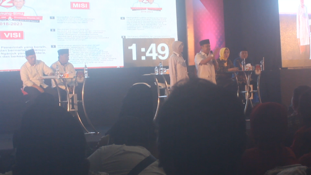 Debat Publik Calon Bupati Dan Wakil Bupati Nganjuk