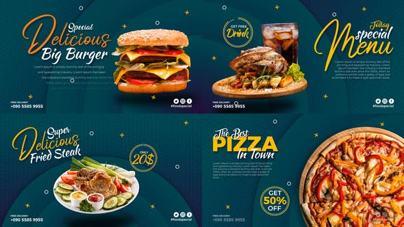 Short Food Promo Display[Videohive][After Effects][28971041]