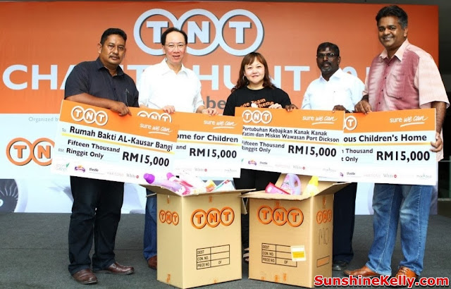 TNT Charity Hunt 2013, TNT Express Malaysia, TNT, Charity Hunt, TNT Charity Hunt, Precious Children's Home, Shelter Home for Children, Pertubuhan Kebajikan Kanak-kanak Yatim Miskin Wawasan Port Dickson, Rumah Bakti Al-Kausar Bangi