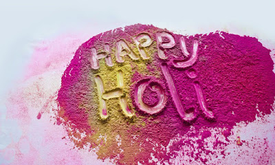 Happy Holi Colorful Greeting Images