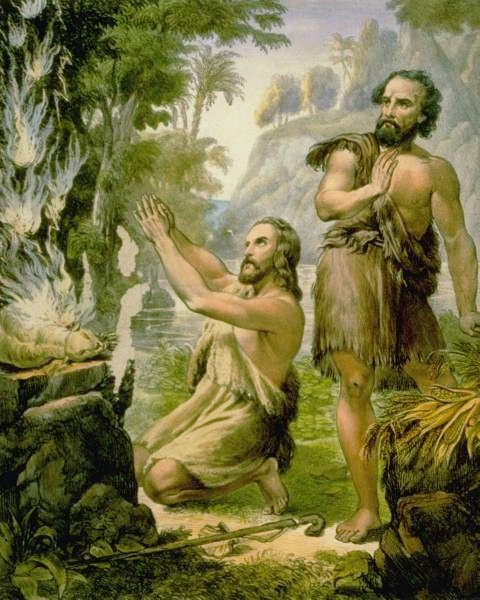 God Made Eve From Adam S Rib Quote: Cain And Abel Bible Quotes. QuotesGram