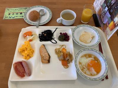 新玉川温泉 朝食