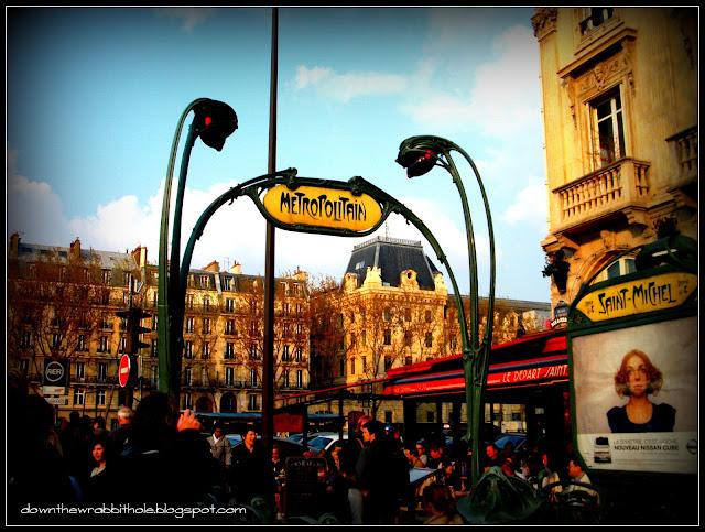 Paris Metro, Saint Michel Paris Metro