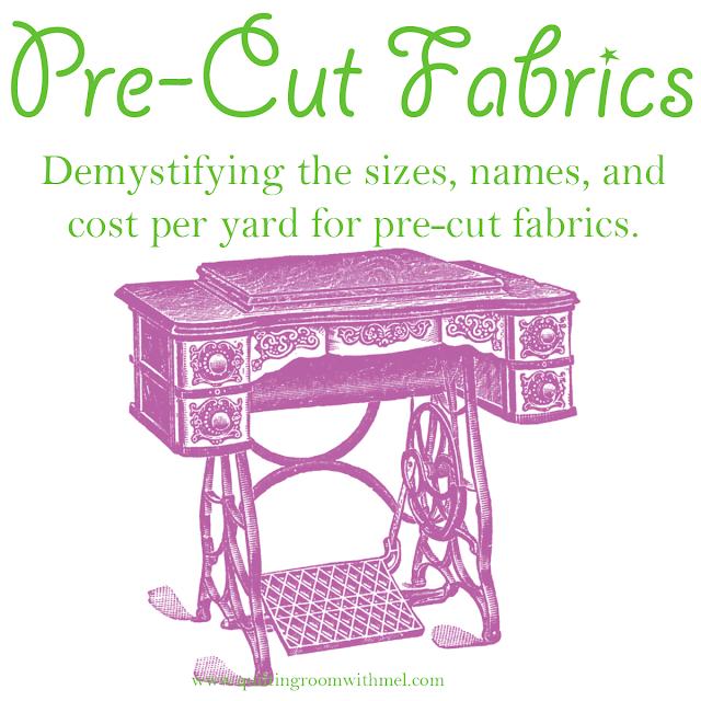 pre-cut quilting fabrics