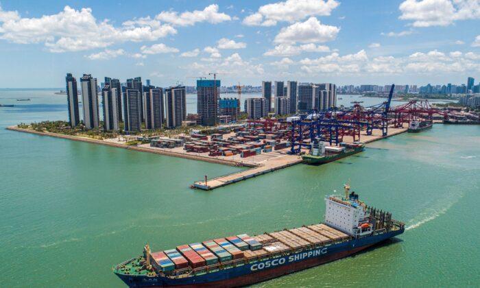 Pequim quer transformar a ilha de Hainan em porto de livre comércio