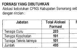 Info Resmi Formasi CPNS Kabupaten Semarang Tahun 2019, Yuk Intip disini