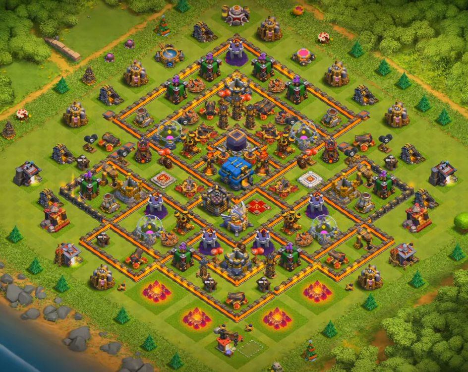 level 12 farming layout