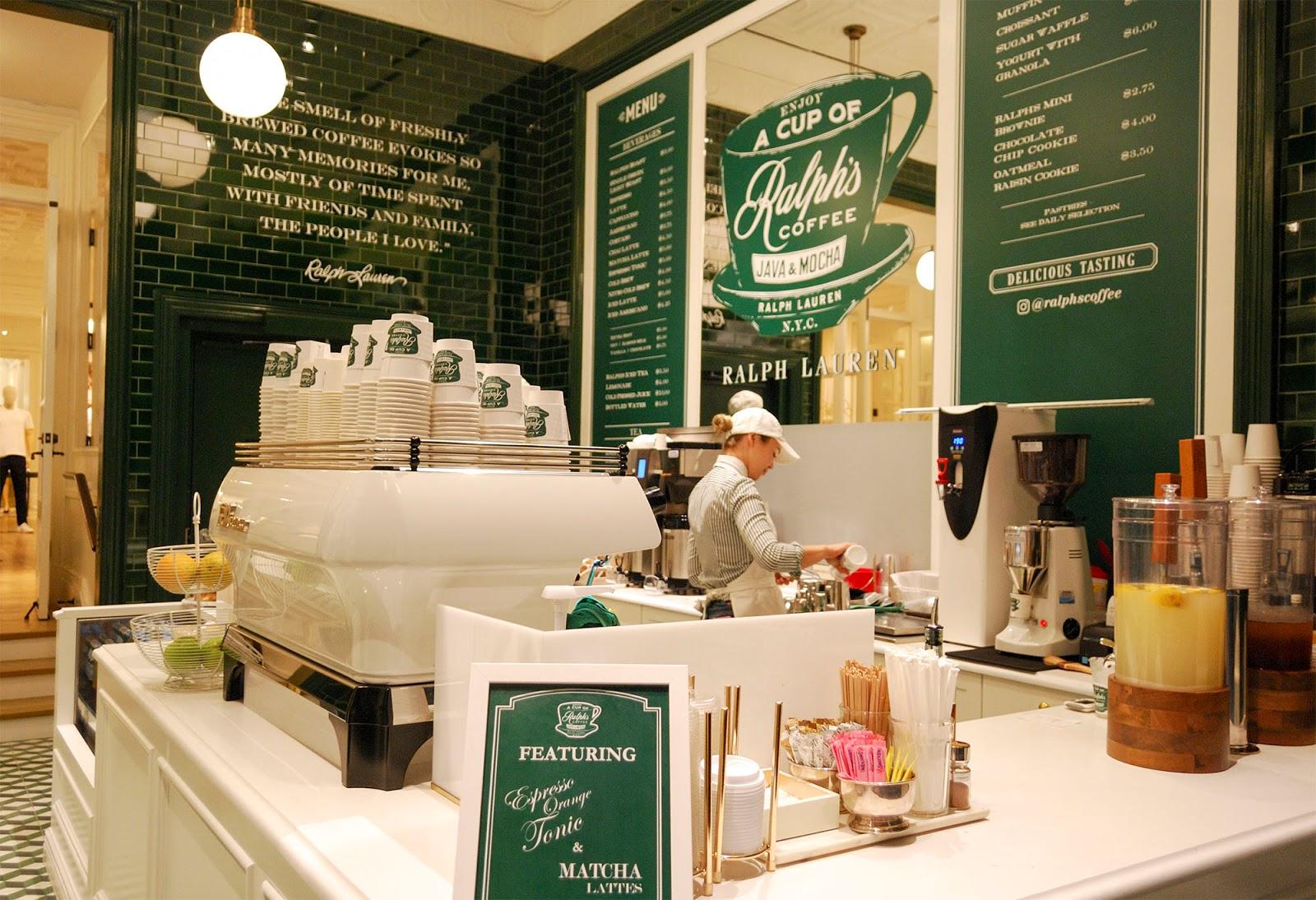 new york itinerary guide plan ralph's coffee ralph lauren tea flatiron manhattan