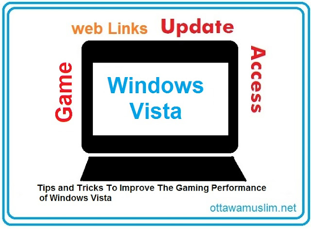 Tips and Tricks, The Gaming Performance, of Windows Vista, Tips and Tricks To Improve The Gaming Performance of Windows Vista, game, windows 7, windows user, access