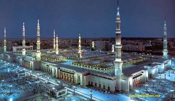 Al-Masjid An-Nabawi, Madinah