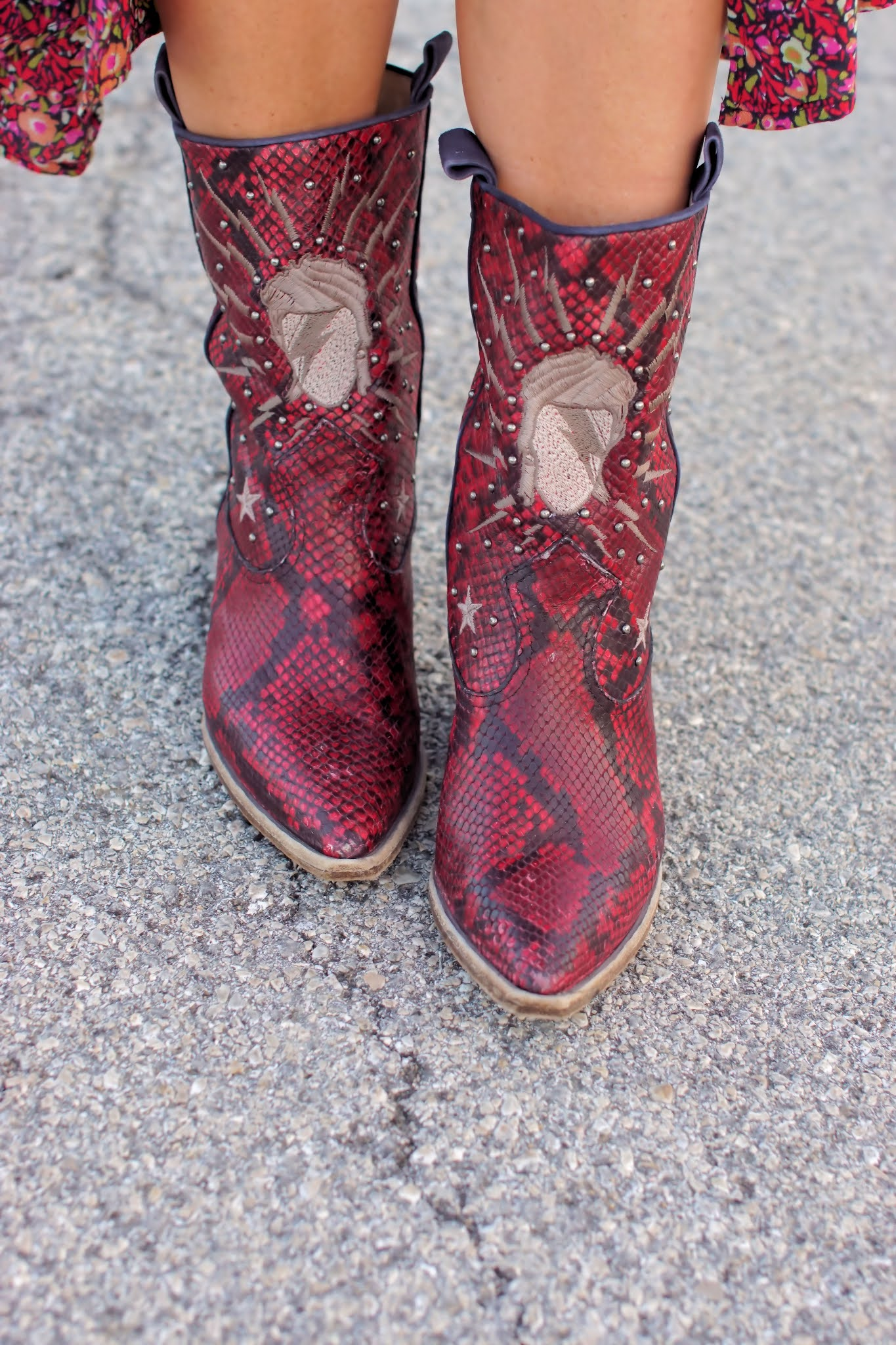 John Richmond western boots