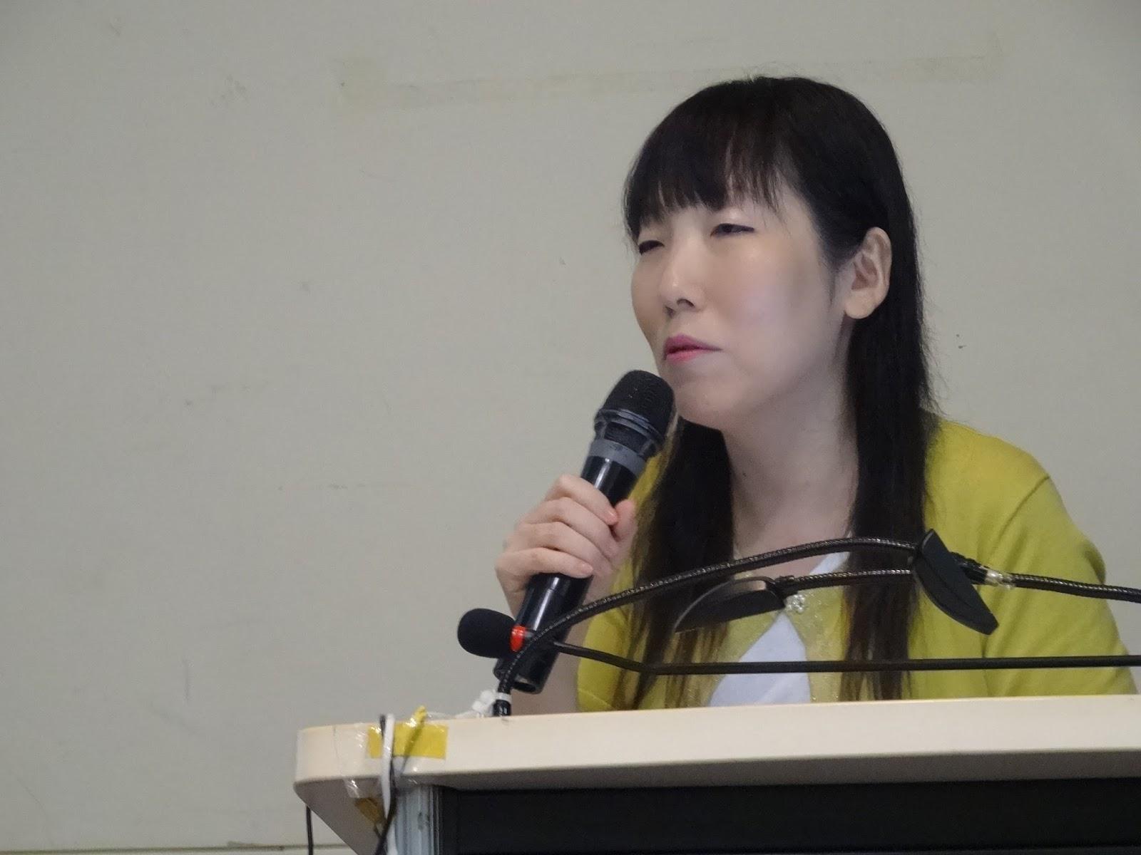 NTNU_106-1臺灣流行文化通識課程: Week 15-02/06/2016: 田畠真弓教授演講