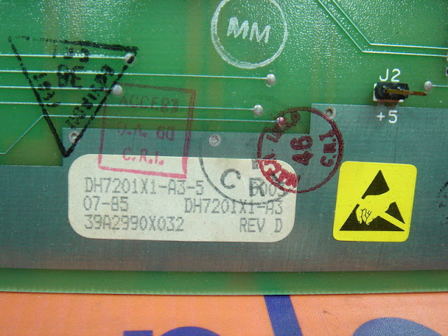 FISHER ROSEMOUNT COMMON RAM CARD REV.D DH7201X1-A3-5 / 39A2990X032