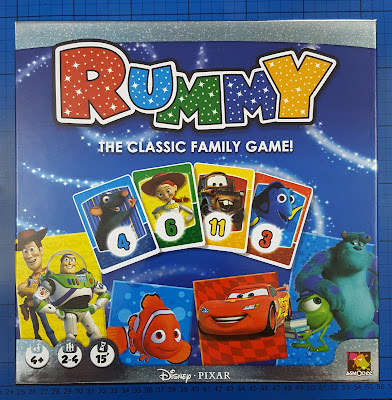 Disney Rummy Family Game from Esdevium Games (review)