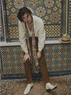 From Malibu to Marrakech: Noé Dons Saint Laurent for GQ México