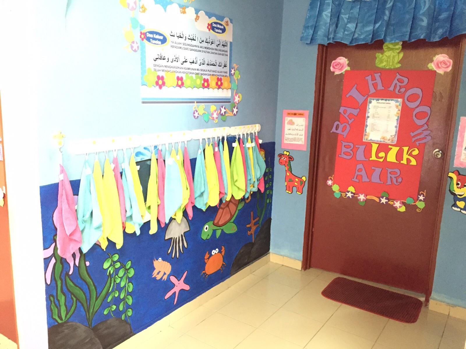 Genius kids zone contoh hiasan dapur tandas dan stor for Contoh lukisan mural tadika