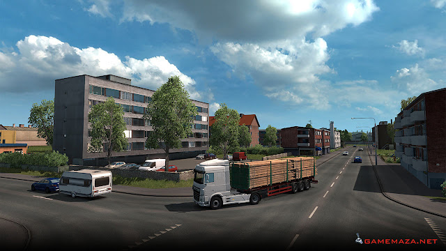 Euro Truck Simulator 2: Beyond The Baltic Sea Gameplay Screenshot 4