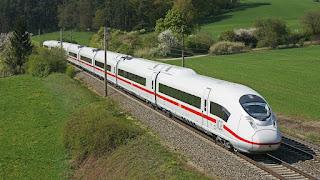 Siemens Velaro E Train top Speed