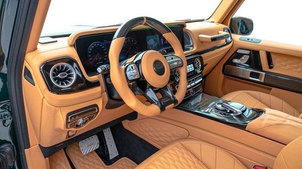 Interior Mansory Gronos Mercedes AMG G 63