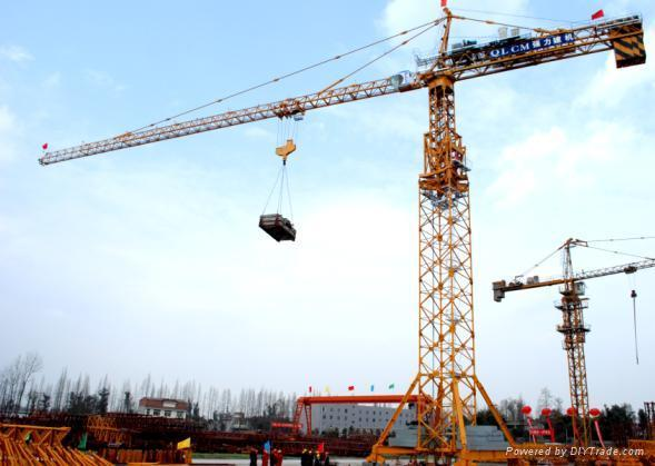 Tower Crane For Construction Building From Bangladesh In