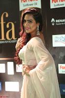 Prajna Actress in backless Cream Choli and transparent saree at IIFA Utsavam Awards 2017 0084.JPG