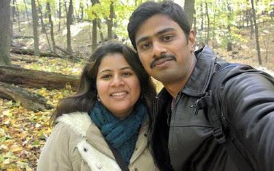 Srinivas Kuchibhotla kee Wife sunaina