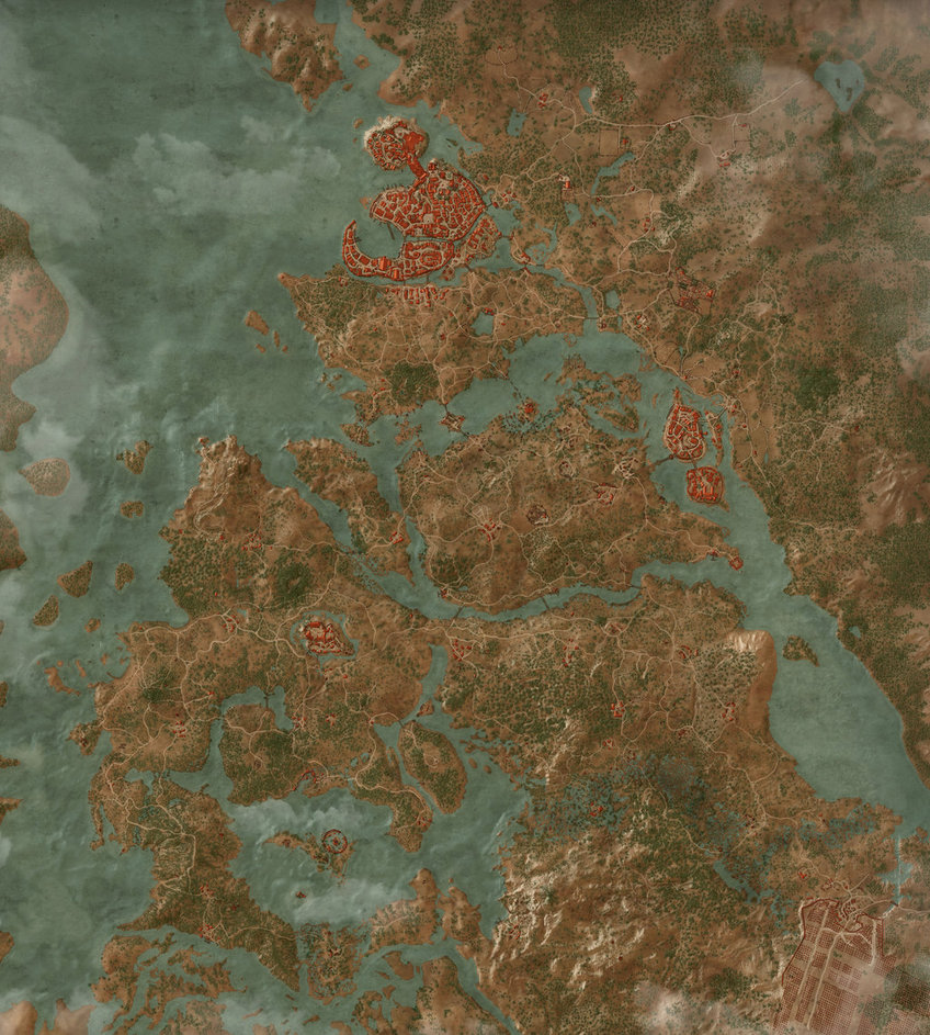 The Witcher 3 Wild Hunt Map
