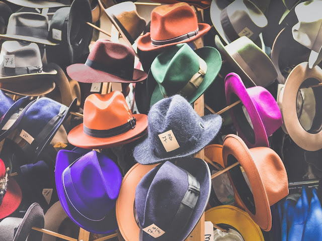 hats.Photo by JOSHUA COLEMAN on Unsplash