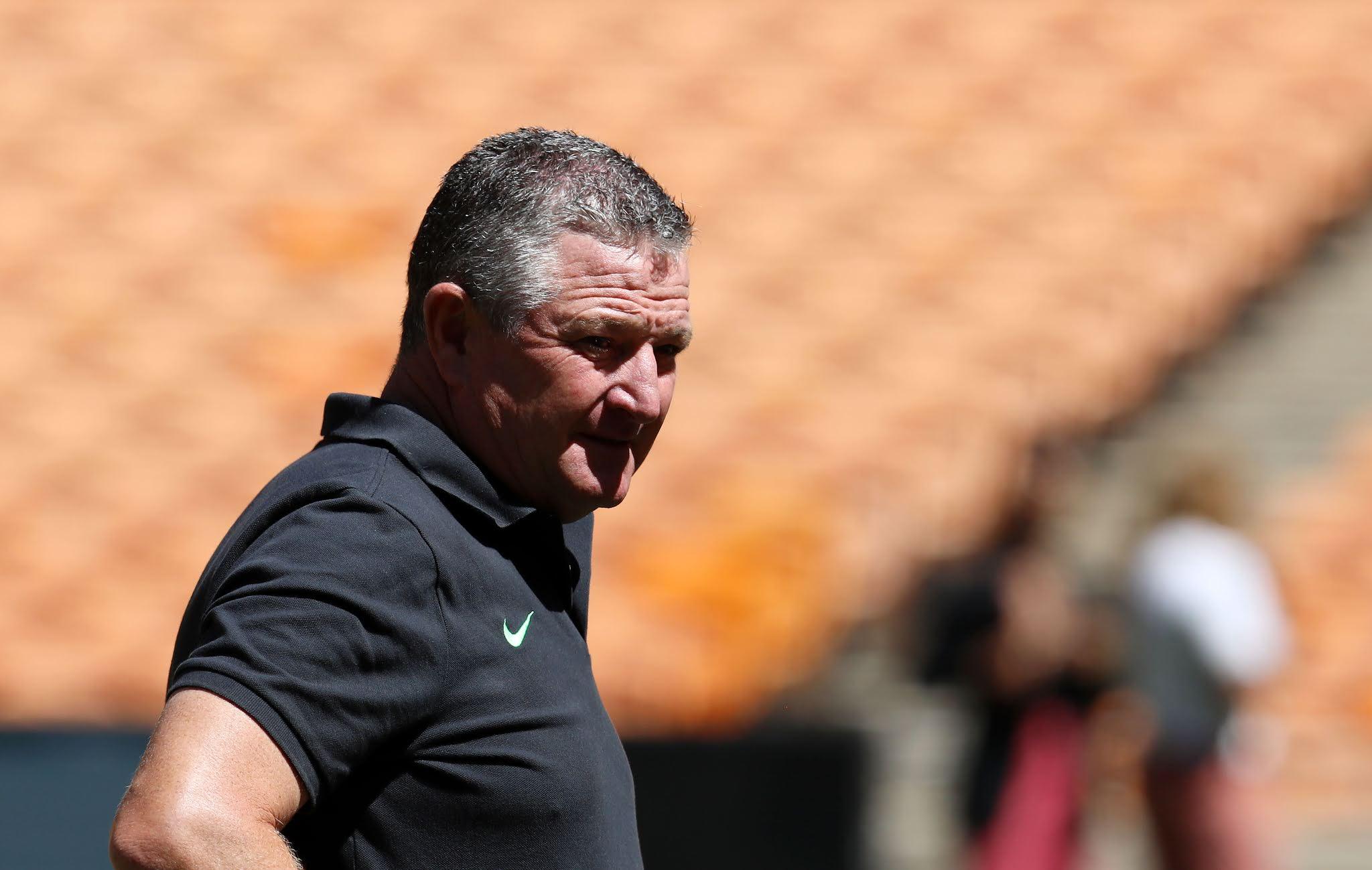 Coach Gavin Hunt will have his work cut out when Kaizer Chiefs host Wydad Casablanca
