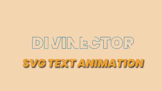 svg text animation
