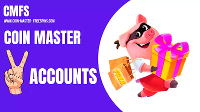 Two Coin Master Accounts.